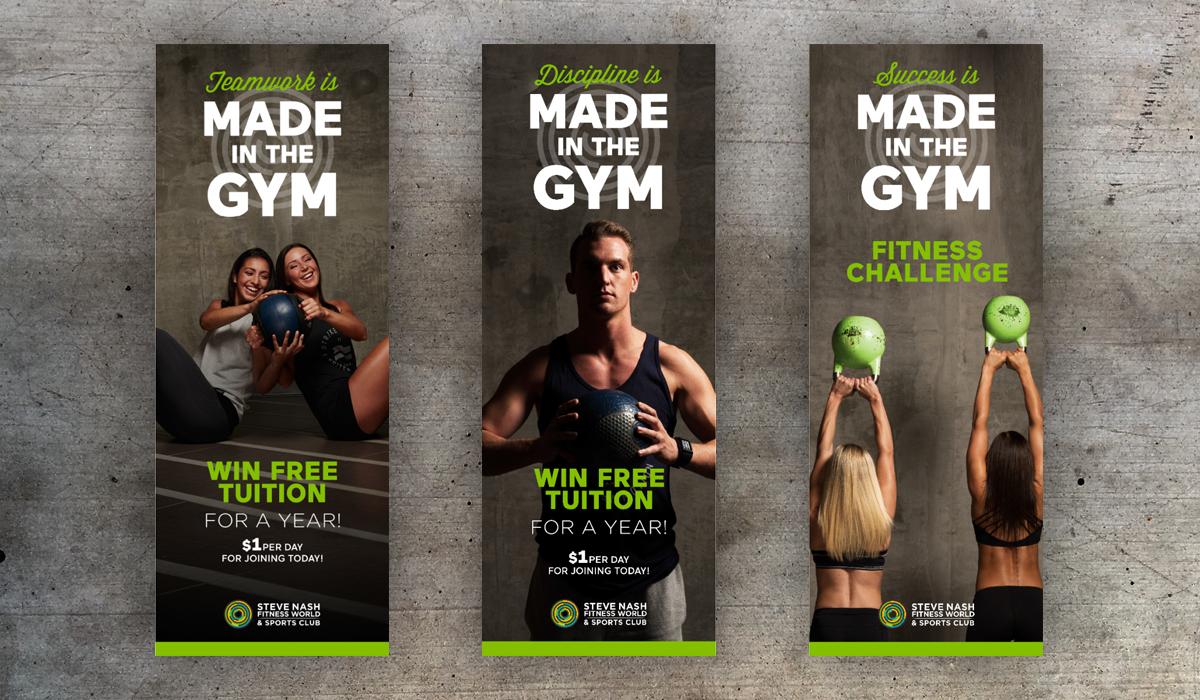 Made in the Gym - Banners