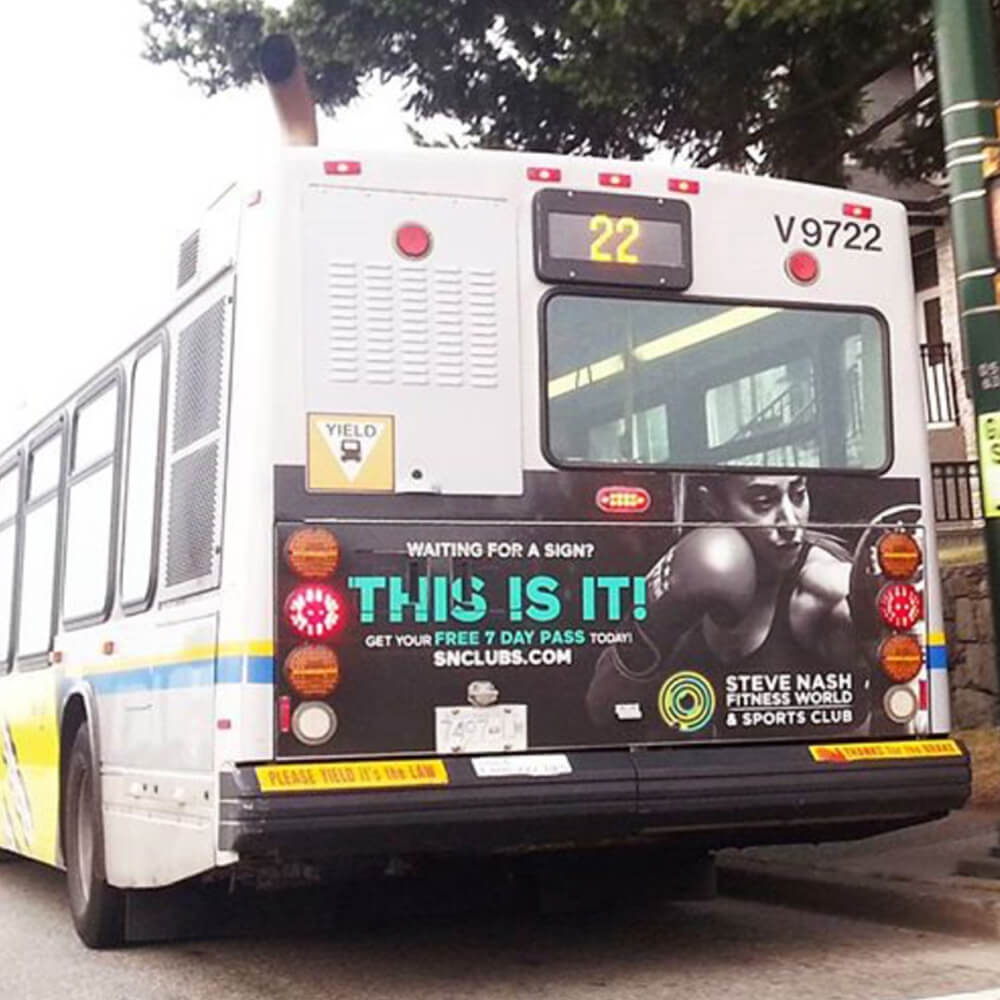 This is It - Bus Back Ad v.2