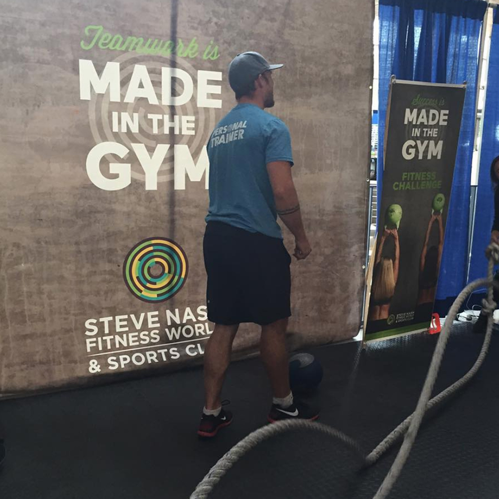 Made in the Gym - On Location