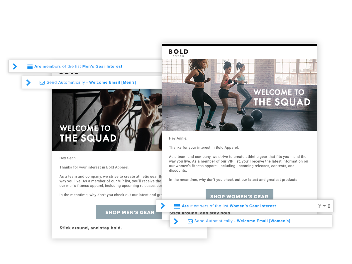 Website Redesign - Imagery: Email Marketing